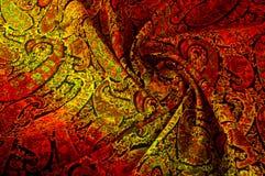 Textuur achtergrondpatroon Het uitstekende bloemen etnische motief van Paisley Royalty-vrije Stock Afbeelding