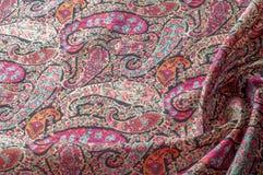 Textuur achtergrondpatroon Het uitstekende bloemen etnische motief van Paisley Stock Afbeeldingen