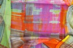 Textuur achtergrondpatroon Zijde dunne stof, abstract patroon o Royalty-vrije Stock Foto