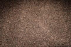 Textuur Bruine doek als achtergrond Royalty-vrije Stock Afbeelding