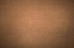 Textuur bruine stof Stock Afbeelding