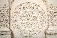 Textuur, de Gebouwen van de Muur Royalty-vrije Stock Afbeeldingen