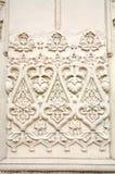 Textuur, de Gebouwen van de Muur Stock Fotografie