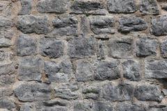 Textuur - de Oude muur van de rots middeleeuwse vesting royalty-vrije illustratie