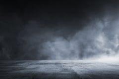 Textuur donkere concrete vloer royalty-vrije stock afbeelding