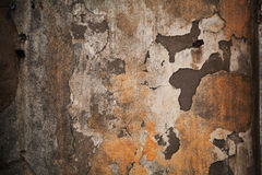 Textuur een donkere smerige steenoppervlakte Sjofele grungy achtergrond Stock Afbeelding
