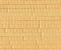 Textuur golfkarton, de gecombineerde stapel in de contextstapel Royalty-vrije Stock Afbeeldingen