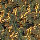Textuur gouden goudklompje. Stock Afbeelding