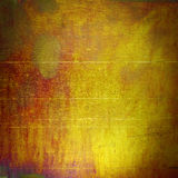 Textuur Gouden Metaal Royalty-vrije Stock Afbeeldingen
