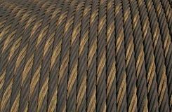 Textuur: Kabel Royalty-vrije Stock Foto