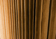 Textuur: karton Stock Foto