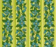 Textuur met bloemen. Stock Foto's
