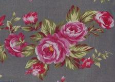 Textuur met bloemenachtergrond in uitstekende stijl Royalty-vrije Stock Foto's
