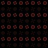 Textuur met 3D teruggevend abstract fractal patroon Royalty-vrije Stock Foto's