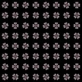 Textuur met 3D teruggevend abstract fractal patroon Royalty-vrije Stock Foto
