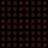 Textuur met 3D teruggevend abstract fractal patroon stock illustratie