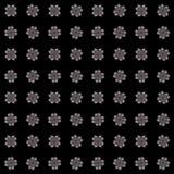 Textuur met 3D teruggevend abstract fractal patroon Stock Foto
