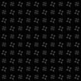 Textuur met 3D teruggevend abstract fractal patroon vector illustratie