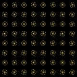 Textuur met 3D teruggevend abstract fractal patroon royalty-vrije illustratie