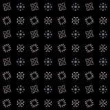 Textuur met 3D teruggevend abstract fractal patroon Royalty-vrije Stock Fotografie