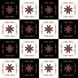 Textuur met 3D teruggevend abstract fractal waaierpatroon royalty-vrije illustratie