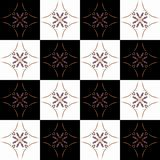 Textuur met 3D teruggevend abstract fractal waaierpatroon Stock Afbeeldingen