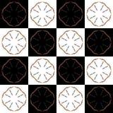 Textuur met 3D teruggevend abstract fractal waaierpatroon Royalty-vrije Stock Afbeelding