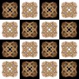 Textuur met 3D teruggevend abstract fractal waaierpatroon Royalty-vrije Stock Fotografie