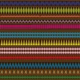 Textuur met etnische ornamenten Royalty-vrije Stock Afbeelding