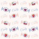 Textuur met fruitsuikergoed Stock Fotografie