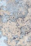 Textuur met gebarsten verf Achtergrond van een oude schilmuur Oude het wedden deklaag Stock Fotografie