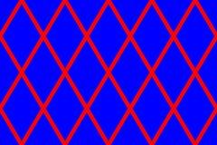 Textuur met grote rode ruiten royalty-vrije stock foto's