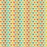 Textuur met Harten Royalty-vrije Stock Afbeelding