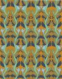 Textuur met het winden van installatie Royalty-vrije Stock Foto's