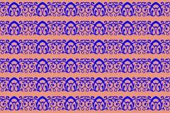 Textuur met horizontaal blauw patroon royalty-vrije stock foto's