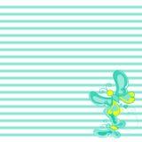 Textuur met mooie vliegende vlinders op achtergrond Royalty-vrije Stock Foto's