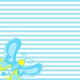 Textuur met mooie vliegende vlinders op achtergrond Stock Afbeelding