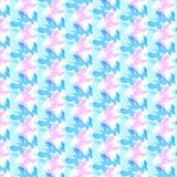 Textuur met mooie vliegende vlinders op achtergrond Royalty-vrije Stock Foto