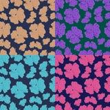 Textuur met rozen Stock Foto