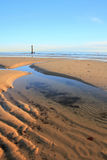 Textuur op het strand Royalty-vrije Stock Foto's