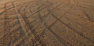 Textuur op het strand Royalty-vrije Stock Afbeelding