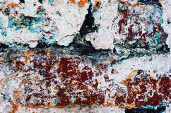 Textuur oude baksteen Stock Fotografie