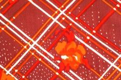 Textuur, patroon, achtergrond Stoffenzijde De donkere kleur van Bourgondië Royalty-vrije Stock Foto
