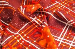 Textuur, patroon, achtergrond Stoffenzijde De donkere kleur van Bourgondië Stock Afbeelding
