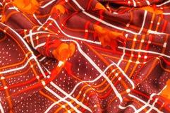Textuur, patroon, achtergrond Stoffenzijde De donkere kleur van Bourgondië Stock Fotografie