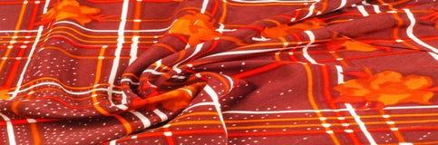 Textuur, patroon, achtergrond Stoffenzijde De donkere kleur van Bourgondië Royalty-vrije Stock Afbeeldingen
