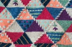 Textuur, patroon van een sweater royalty-vrije stock fotografie