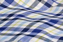 Textuur - picknickdeken Stock Foto
