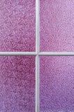 Textuur purper glas stock fotografie