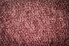 Textuur roze canvas als achtergrond Stock Afbeelding